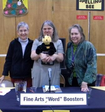 "Fine Arts ""Word"" Boosters Victorious at IPEI's Adult Spelling Bee Sunday, March 3"