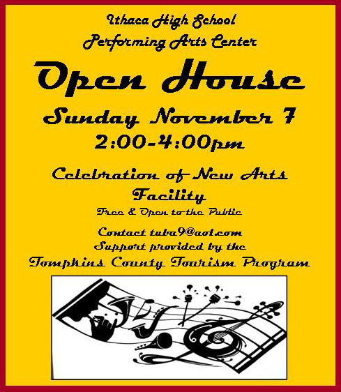 Open House and Community Celebration of Renovated ICSD Arts Building